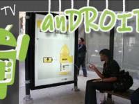 Mal eben das Handy an der Bushaltestelle aufladen