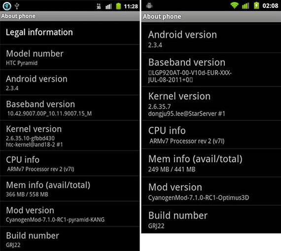 Screenshot System Info Sensation/Optimus 3D (pocketnow.com)