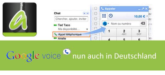 Google Voice Ankündigung