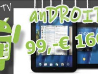 Wer bekommt noch ein HP TouchPad für 99,-€ ?