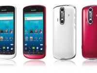 Sharp nun auch mit anDROID 3D Smartphone