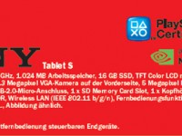 Media Markt bereits heute schon mit Sony Tablet S 16GB
