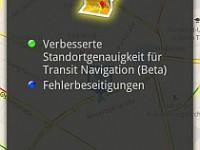 Google Maps mit kleinem update