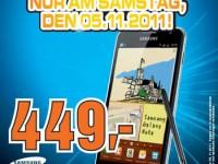 Saturn Hamburg verkauft Galaxy Note für 449,-Euro