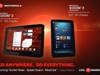 Motorola stellt Xoom 2 und Xoom 2 Media Edition vor