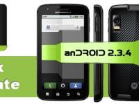 Update auf Android 2.3.4 für das Motorola Atrix ist da