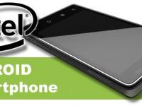 Erste Bilder von anDROID Intel Smartphone