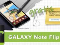 Samsung verschenkt Galaxy Note Flip Cover