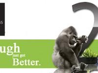 Corning zeigt auf der CES 2012 in Vegas Gorilla Glass 2
