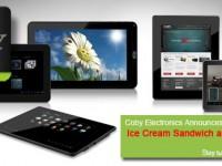 [CES 2012] Günstige Tablets in (fast) allen Größen mit Android 4.0