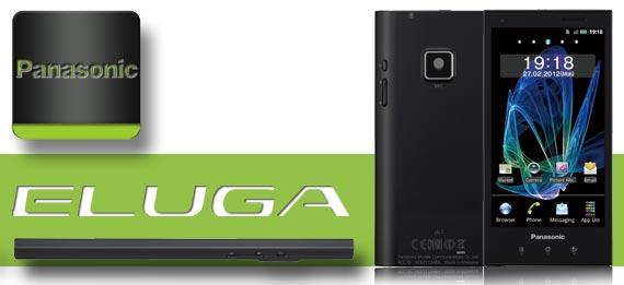 Panasonic Eluga soll ab April erhältlich sein