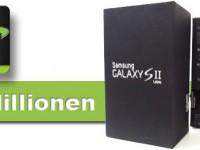 20 Millionen verkaufte Samsung Galaxy S2 und kein Ende in Sicht