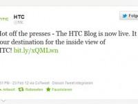 HTC sucht Kundennähe mit eigenem Blog
