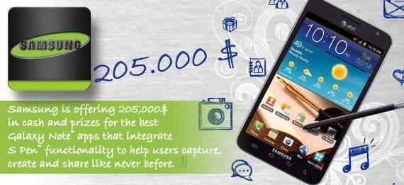 Samsung S-Pen App Challenge