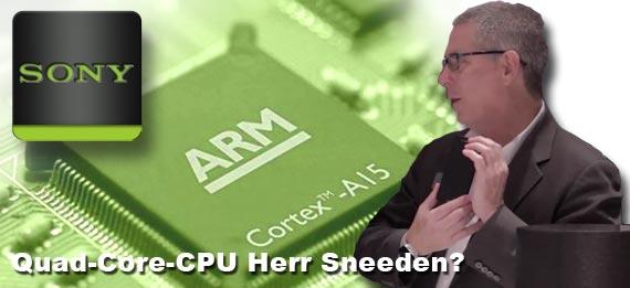 Sony Quad-Core-CPU