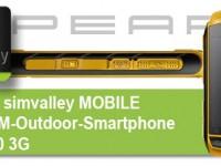 [Test] SimValley SPT-800 3G – Ein Smartphone für Draußen?