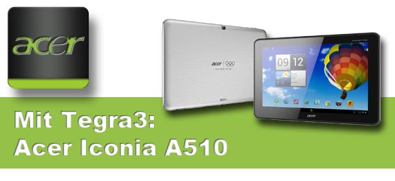 Lieferschwierigkeiten wegen fehlerhafter Bauteile beim Acer A510 und A511
