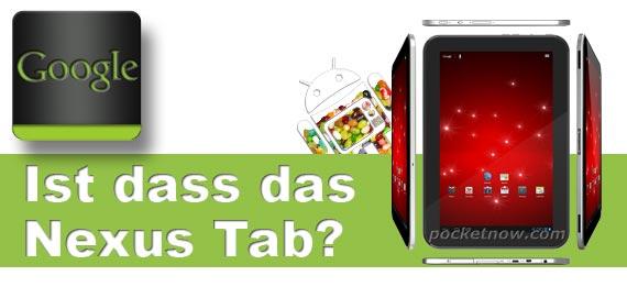 Nexus Tablet kommt frühestens im Juli