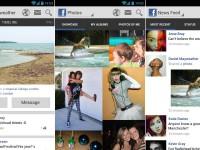 So könnte die Facebook App aussehen