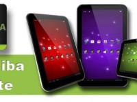 [Update] Toshiba kündigt drei neue Tablets der Excite Reihe an