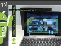 [Video] ASUS Transformer Pad TF300T  – First touch & view