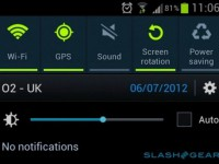 Samsung Galaxy S3: UK OTA bringt brightness toggle zur notification bar