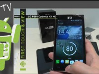 [Video] LG Optimus 4X HD  – First touch & view