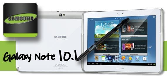 Erster deutscher Test des Galaxy Note 10.1 bei Base