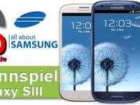 Gewinne ein, zwei, drei, vier Samsung Galaxy SIII