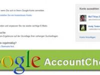 Google optimiert Account Verwaltung