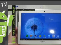 [Video] Samsung Galaxy Note 10.1 N8000 3G  – First touch & view