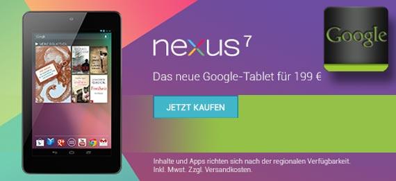 The Carphone Warehouse: Nexus 7 setzt sich die Krone auf