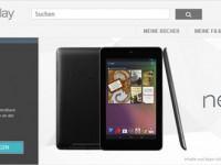 Google Nexus 7 Tablet ab sofort für alle im Google Play Store erhältlich!