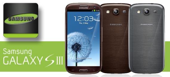 Galaxy S3 Braun und Grau