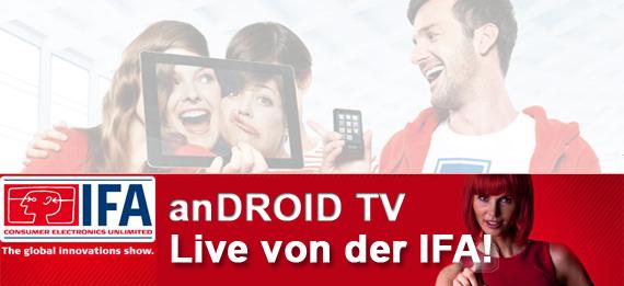 Live von der IFA!