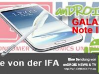 [IFA Video] HandsOn Samsung Galaxy Note 2