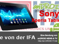[IFA Video] HandsOn Sony Xperia Tablet S