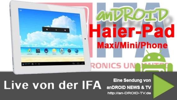 Haier Pad Maxi