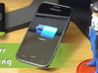 Drahtloses Akku-aufladen per NFC