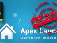 [Update] Achtung: Apex Launcher Update mit gehörigem Fehler!!!