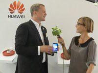 IFA 2012 – Interview bei HUAWEI mit Lars-Christian Weisswange