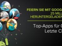 Play Store: 25 Cent-Apps nur noch heute