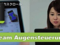 i beam: Tablet-Steuerung nur per Augen