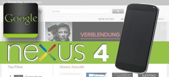 """Nexus 4 kommt ohne LTE oder """"Warum Google auf LTE verzichtet"""""""