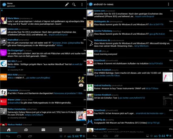 Nexus 7 Echofon