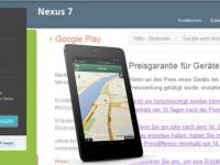 Google zahlt 50 Euro an die Nexus 7 Kunden zurück!