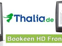 Thalia: Kann der Bookeen HD Frontlight, Kindle und Co gefährlich werden?