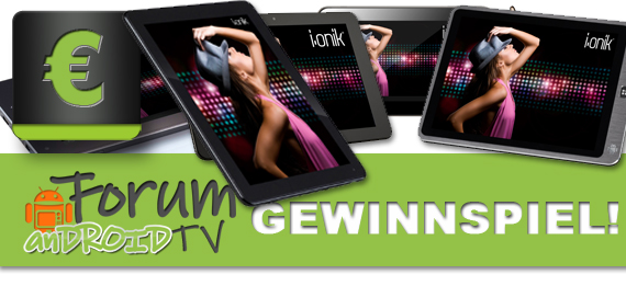 i.onik Tablet zu gewinnen