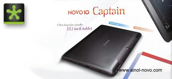 """Ainol Novo 10 Captain: 10,1"""" mit Quadcore und FullHD Display für 216 US Dollar"""