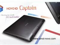Ainol Novo 10 Captain: 10,1″ mit Quadcore und FullHD Display für 216 US Dollar